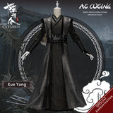 TV Series The Untamed Xue Yang Cosplay Costume Xu Chengmei Ancient Men's Clothing With Accessories