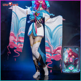 【Pre-sale】Uwowo League of Legends LOL Spirit Blossom Ahri The Nine-Tailed Fox Cosplay Costume