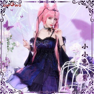 Uwowo Sailor Moon Chibiusa Cosplay Lolita Dress With Accessories