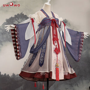 Uwowo Original Design The garden party Chinoiserie Lolita Dress Cosplay Costume
