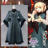 【Pre-sale】UWOWO Fate/Stay Night HF III. spring song Saber Dress Cosplay Costume