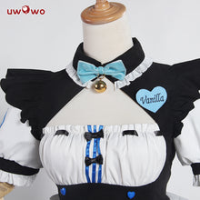 UWOWO Vanilla Cosplay NEKOPARA Vanilla Maid Costume Neko Maid Cute Dress