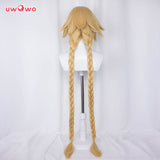 【Pre-sale】Uwowo Fate Grand Order/FGO Imaginary Scramble Jeanne d'Arc Cosplay Wig 120cm Gold Hair