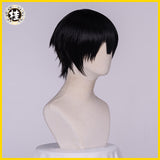 UWOWO Toilet-Bound Hanako-kun/Jibaku Shounen Hanako-kun Cosplay Wig 25cm Natural Black Hair