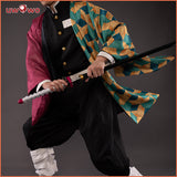 【New version】Uwowo Demon Slayer: Kimetsu no Yaiba Tomioka Giyuu Cosplay Costume Demon Slaying Corps Uniform