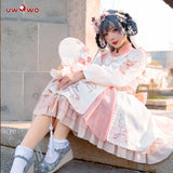 Uwowo Original Design Peach Blossom Chinoiserie Lolita Dress Cosplay Costume