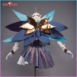【Pre-sale】Uwowo Game League of Legends LOL Seraphine The Starry-Eyed Songstress Cosplay Costume