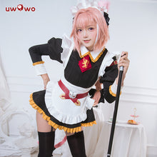 UWOWO  Fate Grand Order Maid Uniform Astolfo Cosplay Costume Girls Cute Dress Fate/Apocrypha