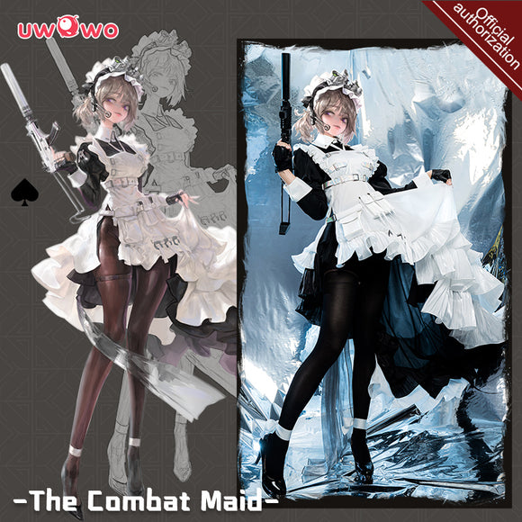 【Pre-sale】Exclusive authorization Uwowo x AGOTO: The Combat Maid Series ♠ Spade Cosplay Costume