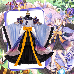 UWOWO Game Princess Connect! Re:Dive Kyouka Hikawa Cosplay Costume Cute Girl Dress Cosplay
