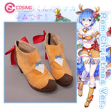 【Pre-sale】Re:Zero×White Cat Project Rem Christmas Reindeer Ver. Cosplay Shoes