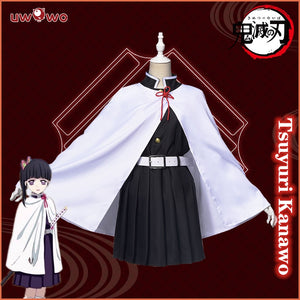 Uwowo Demon Slayer: Kimetsu no Yaiba Tsuyuri Kanawo Cosplay Costume Demon Slaying Corps Uniform