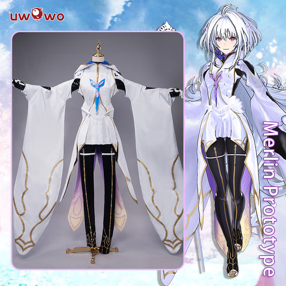 【Pre-sale】Uwowo Game Fate Grand Order/FGO Merlin Prototype Cosplay Costume