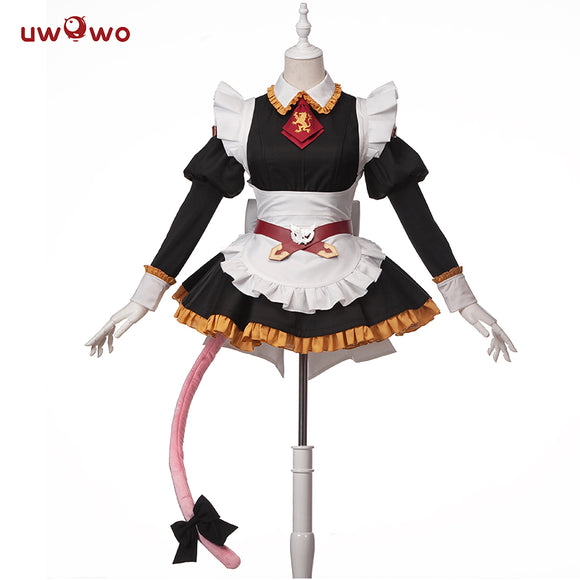 UWOWO  Fate Grand Order Maid Uniform Astolfo Cosplay Costume Cute Dress Fate/Apocrypha