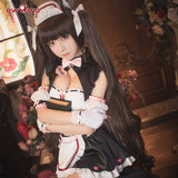 【Pre-sale】UWOWO Game NEKOPARA Chocola Racing Queen Ver. Cosplay Costume Seperate Maid Uniform Chocola and Vanilla Cute Girl Dress