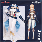 【Pre-sale】Uwowo Game Genshin Impact Cosplay Jean Gunnhildr Dandelion Knight Cosplay Costume Knights of Favonius Four Winds