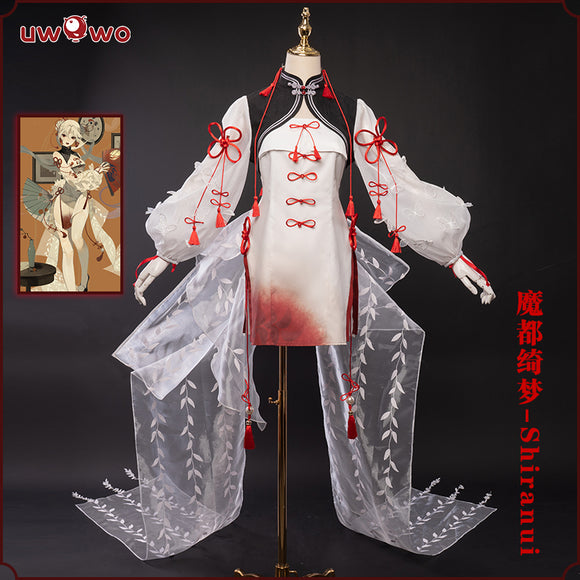 【Pre-sale】Game Onmyoji yys 魔都绮梦 Shiranui Doujin Ver. Cosplay Costume