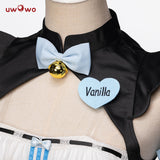 UWOWO Game NEKOPARA Vanilla Racing Queen Ver. Cosplay Costume Seperate Maid Uniform Chocola and Vanilla Cute Girl Dress