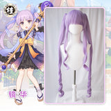 UWOWO Game Princess Connect! Re:Dive Kyouka Hikawa Cosplay Wig 100cm Light Purple Wig