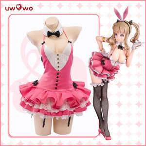 【Pre-sale】Uwowo BINDing Creators Collection 黒川みこ Ver. Bunny Girl Cosplay Costume Cute Dress