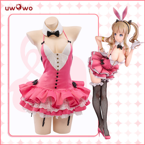 Uwowo BINDing Creators Collection 黒川みこ Ver. Bunny Girl Cosplay Costume Cute Dress