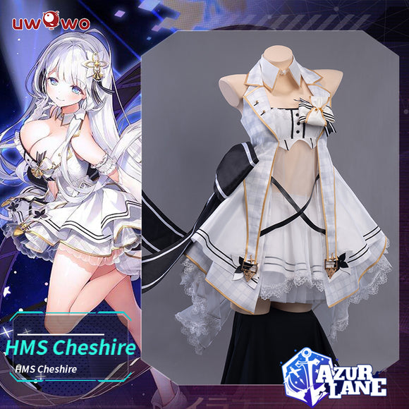 【Pre-Sale】Uwowo Game Azur Lane  Illustrious Cosplay Costume Sexy Women Dress