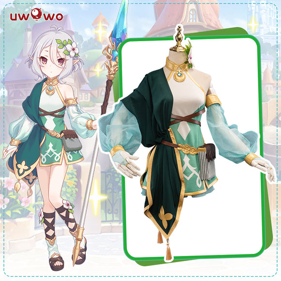 UWOWO Game Princess Connect! Re:Dive Kokkoro Regular Cosplay Costume Natsume Kokoro Cute Girl Dress Cosplay