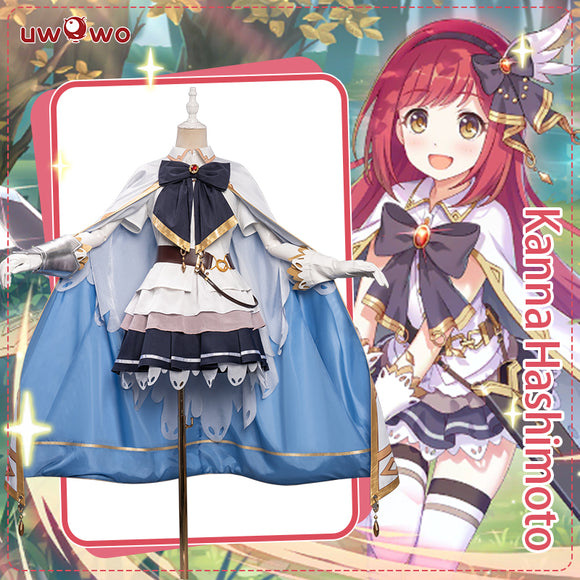 【Pre-sale】Uwowo Game Princess Connect! Re:Dive Kanna Hashimoto Cosplay Costume