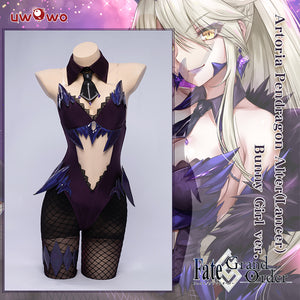 【Pre-sale】Exclusive authorization Uwowo x sakiyamama: Fate/GrandOrder FGO Artoria Pendragon Alter(Lancer) Bunny Girl Ver. Cosplay Costume
