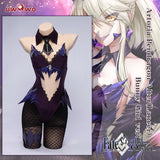 Exclusive authorization Uwowo x sakiyamama: Fate/GrandOrder FGO Artoria Pendragon Alter(Lancer) Bunny Girl Ver. Cosplay Costume