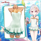 UWOWO Game Princess Connect! Re:Dive Kokkoro Summer Swimsuit Cosplay Costume Natsume Kokoro Summer Version