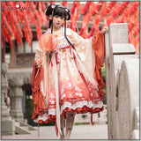 Uwowo Original Design Spring Dew Chinoiserie Lolita Dress Cosplay Costume