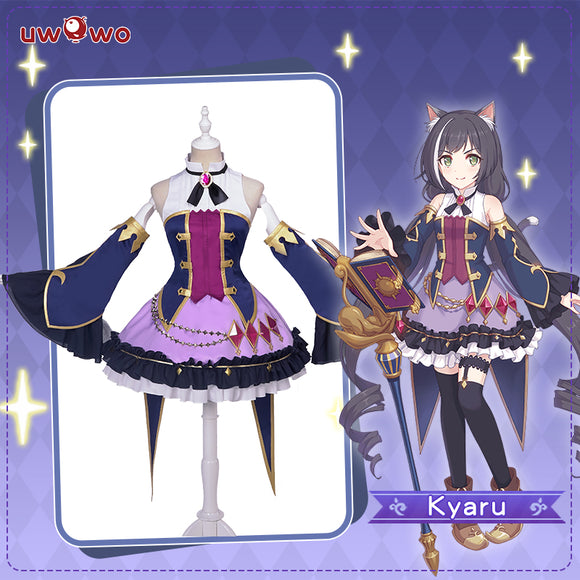 UWOWO Game Princess Connect! Re:Dive Kyaru/Kiruya Momochi Dress Cosplay Costume