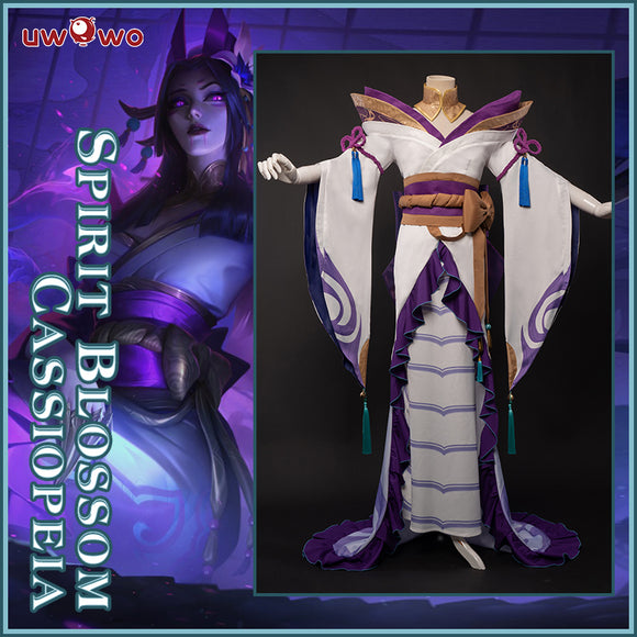 Uwowo League of Legends Spirit Blossom Cassiopeia Du Couteau The Serpent's Embrace Cosplay Costume