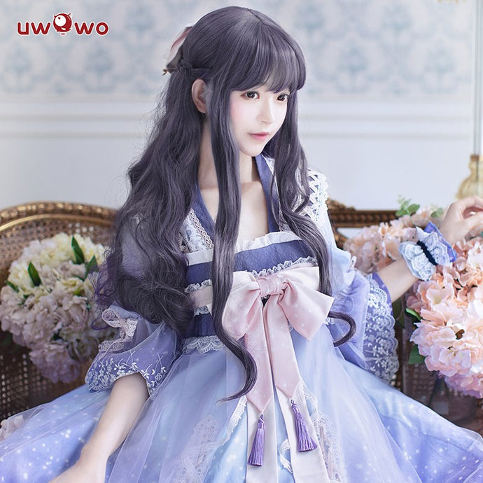 Uwowo Anime Sakura Card Captor Cosplay Tomoyo Daidouji Doujin Costum