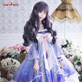 【Clearance sale】UWOWO Anime Sakura Card Captor Cosplay Tomoyu Daidouji  Doujin Dress Costume Women Halloween Cosplay Girls Kawaii Costume
