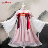 Uwowo Original Design Luochen Chinoiserie Lolita Dress Cosplay Costume Cute Girls Dress
