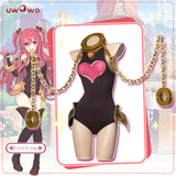 UWOWO Game Princess Connect! Re:Dive Kuuka Regular Cosplay Costume Kuuka Sexy Cosplay