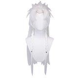 Uwowo League of Legends LOL Spirit Blossom Yone The Unforgotten Cosplay Wig 80cm White Hair