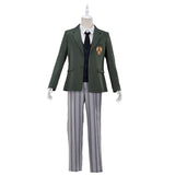 【Pre-sale】UWOWO Anime Beastars Legosi Cosplay Costume Uniform Cool Suit Grey Wolf Costume