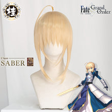 Saber Wig Fate/Grand Order Fate FGO Fate/stay night FSN Unisex Blonde Styled Cosplay Hair