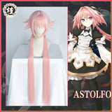【Pre-Sale】Uwowo Game Fate Grand Order/FGO Astolfo Cosplay Wig 100cm Long Twin Tail Pink Hair