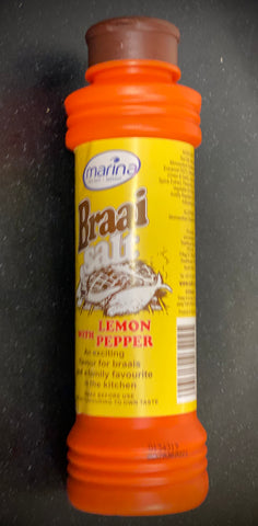 Marina Braai Salt with Lemon & Pepper