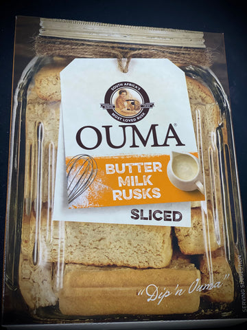 Ouma Rusks Buttermilk 500g - sliced
