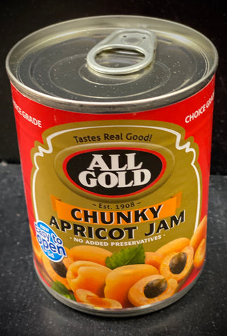 All Gold Apricot Jam - Chunky 450g