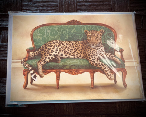 Cards (6 Pack) Leopard
