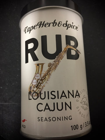 Cape Herb Louisiana Cajun Rub 100g