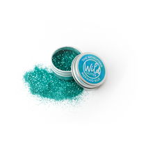 Blue Biodegradable Glitter Size L - Wild Glitter Fine Mermaid Blue Bioglitter®