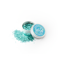 Blue Biodegradable Glitter Size S - Wild Glitter Chunky Mermaid Blue Bioglitter®