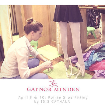 Gaynor Minden Fitting This April